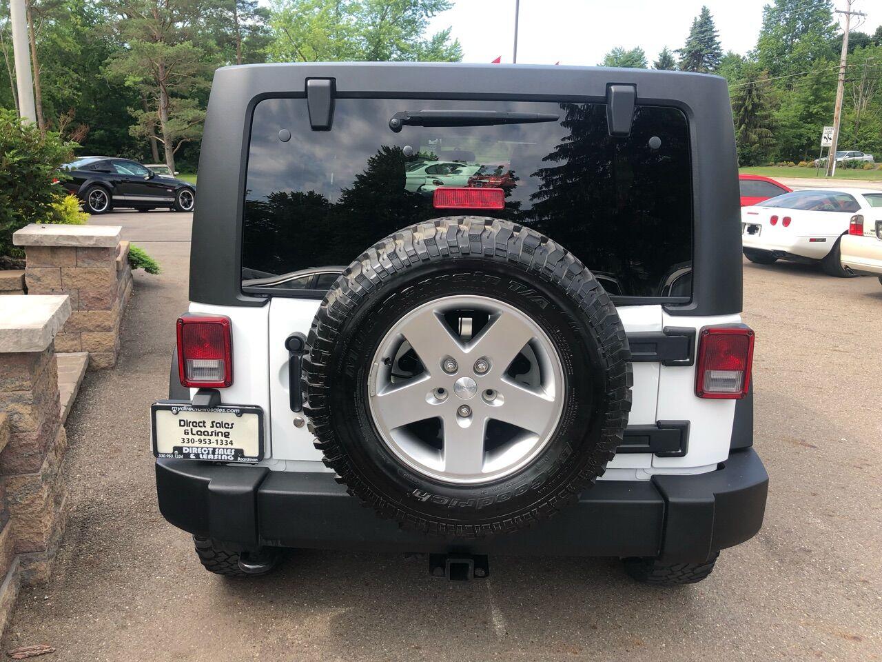 2011 Jeep Wrangler Unlimited Sport Utility