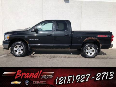 2007 Dodge Ram Pickup 1500 for sale at Brandl GM in Aitkin MN