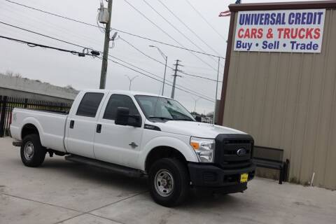 2012 Ford F-350 Super Duty for sale at Universal Credit in Houston TX