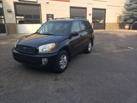 2003 Toyota RAV4 for sale at Fleet Automotive LLC in Maplewood MN