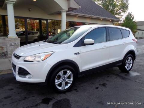 2013 Ford Escape for sale at DEALS UNLIMITED INC in Portage MI