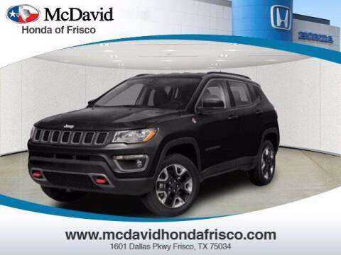2018 Jeep Compass for sale at DAVID McDAVID HONDA OF IRVING in Irving TX