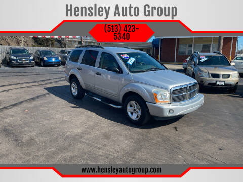 2005 Dodge Durango for sale at Hensley Auto Group in Middletown OH
