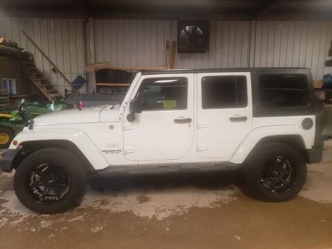 2011 Jeep Wrangler Unlimited for sale at Tumbleson Automotive in Kewanee IL