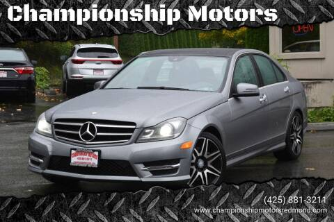 2014 Mercedes-Benz C-Class for sale at Mudarri Motorsports - Championship Motors in Redmond WA