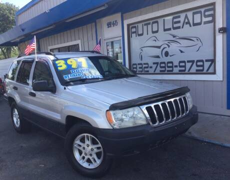 2003 Jeep Grand Cherokee for sale at AUTO LEADS in Pasadena TX