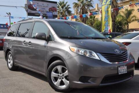 2015 Toyota Sienna for sale at AMC Auto Sales, Inc in San Jose CA