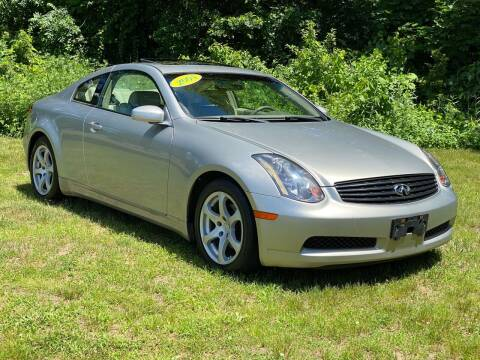 2004 Infiniti G35 for sale at Choice Motor Car in Plainville CT