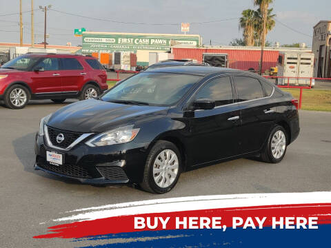 2017 Nissan Sentra for sale at Mid Valley Motors in La Feria TX