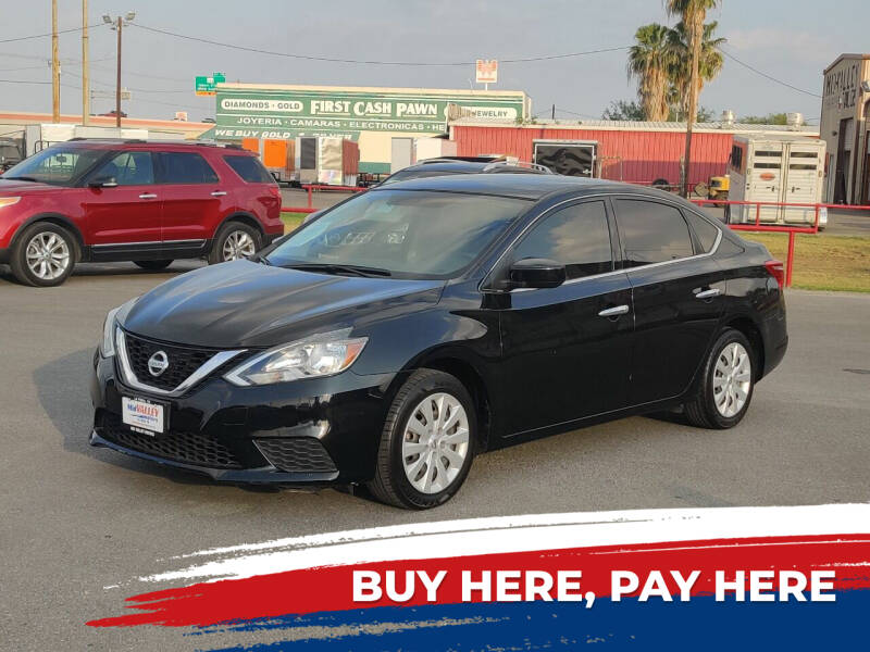 2017 Nissan Sentra for sale at Mid Valley Motors in La Feria TX