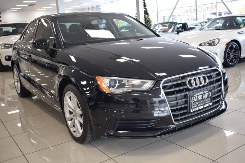 2015 Audi A3 for sale at Legend Auto in Sacramento CA