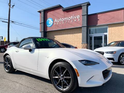 2016 Mazda MX-5 Miata for sale at Automotive Solutions in Louisville KY