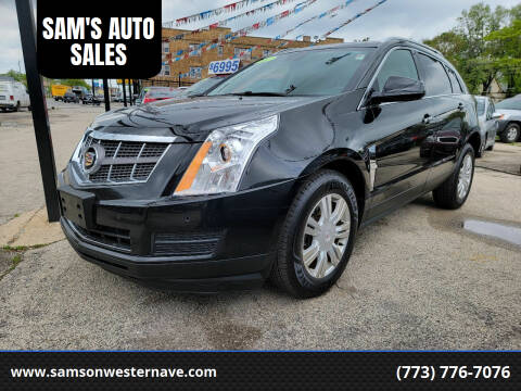 2012 Cadillac SRX for sale at SAM'S AUTO SALES in Chicago IL