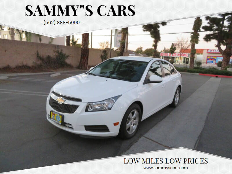 "2014 Chevrolet Cruze for sale at SAMMY""S CARS in Bellflower CA"