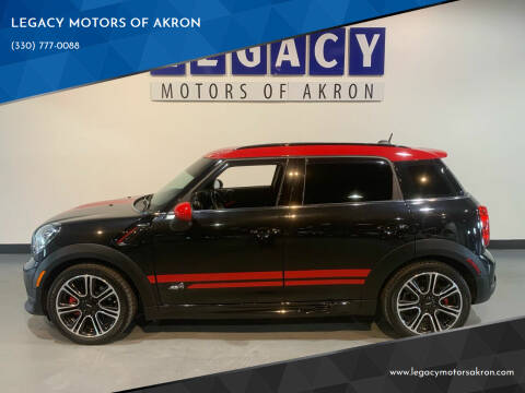 2015 MINI Countryman for sale at LEGACY MOTORS OF AKRON in Akron OH