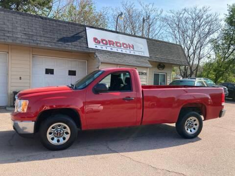 2013 GMC Sierra 1500 for sale at Gordon Auto Sales LLC in Sioux City IA