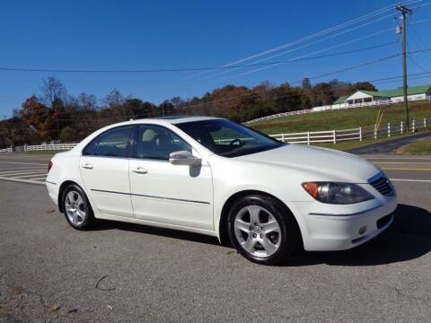 2005 Acura RL for sale at Car Depot Auto Sales Inc in Seymour TN