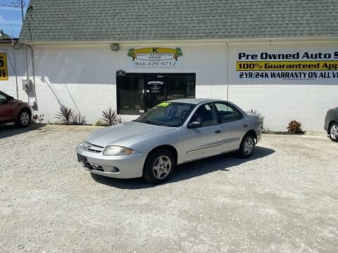 2005 Chevrolet Cavalier for sale at Klett Automotive Group in Saint Augustine FL