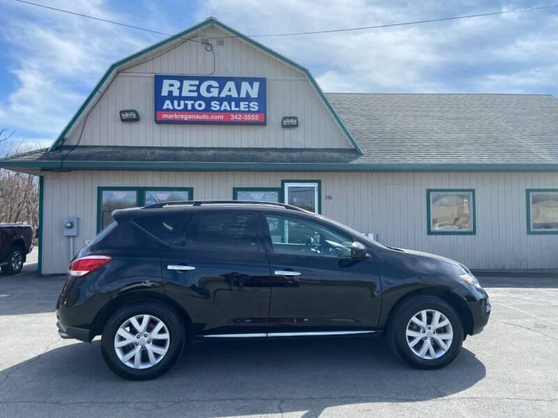2011 Nissan Murano for sale at Mark Regan Auto Sales in Oswego NY