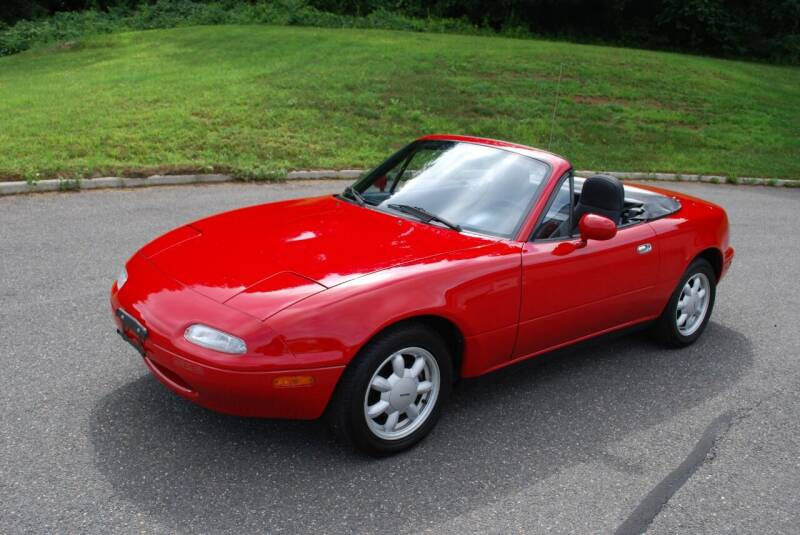1991 Mazda MX-5 Miata for sale at New Milford Motors in New Milford CT