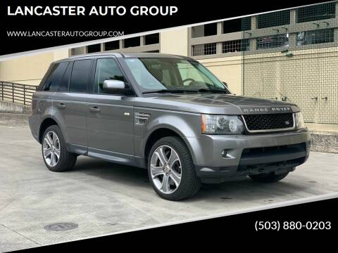 2010 Land Rover Range Rover Sport for sale at LANCASTER AUTO GROUP in Portland OR