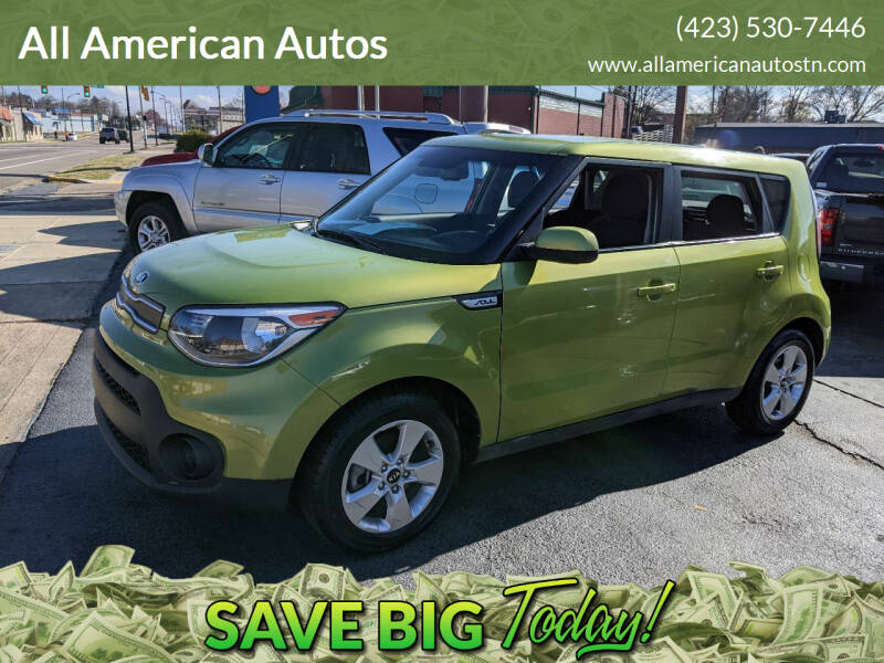 2019 Kia Soul for sale at All American Autos in Kingsport TN