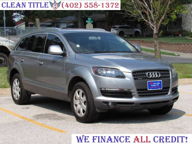 2008 Audi Q7 for sale at NY AUTO SALES in Omaha NE