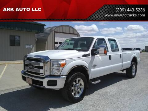 2015 Ford F-350 Super Duty for sale at ARK AUTO LLC in Roanoke IL