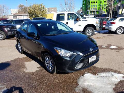 2017 Toyota Yaris iA for sale at BERKENKOTTER MOTORS in Brighton CO