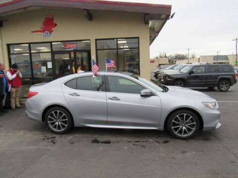 2018 Acura TLX for sale at Cardinal Motors in Fairfield OH