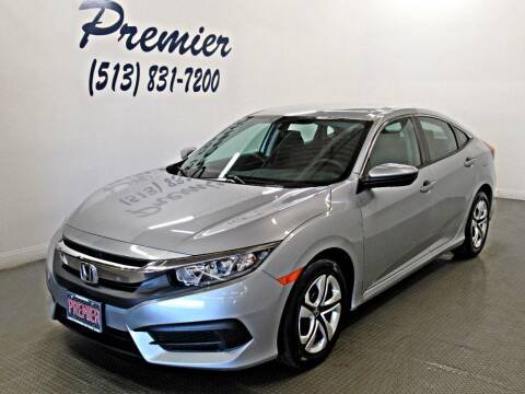 2016 Honda Civic for sale at Premier Automotive Group in Milford OH