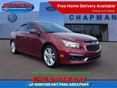 2015 Chevrolet Cruze for sale at CHAPMAN FORD NORTHEAST PHILADELPHIA in Philadelphia PA