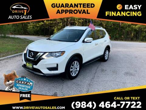 2017 Nissan Rogue for sale at Drive 1 Auto Sales in Wake Forest NC