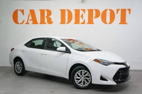 2019 Toyota Corolla for sale at Car Depot in Miramar FL