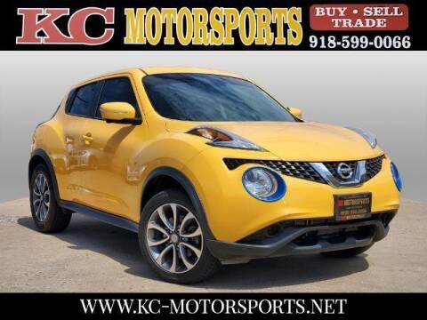 2017 Nissan JUKE for sale at KC MOTORSPORTS in Tulsa OK
