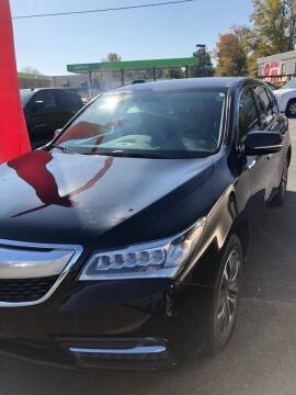 2014 Acura MDX for sale at BRYANT AUTO SALES in Bryant AR
