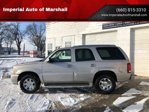 2005 Cadillac Escalade for sale at Imperial Auto of Marshall - Imperial Auto Of Slater in Slater MO