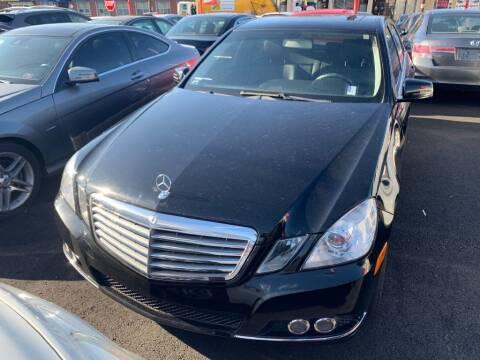 2011 Mercedes-Benz E-Class for sale at Park Avenue Auto Lot Inc in Linden NJ