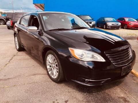 2013 Chrysler 200 for sale at Daniel Auto Sales inc in Clinton Township MI