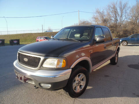2003 Ford F-150 for sale at VEST AUTO SALES in Kansas City MO