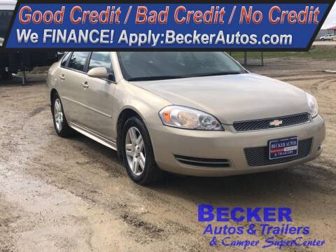 2012 Chevrolet Impala for sale at Becker Autos & Trailers in Beloit KS