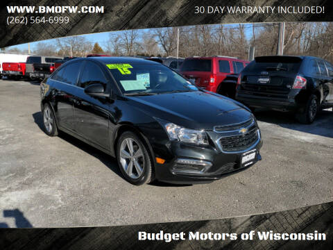 2015 Chevrolet Cruze for sale at Budget Motors of Wisconsin in Racine WI