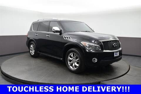 2012 Infiniti QX56 for sale at M & I Imports in Highland Park IL