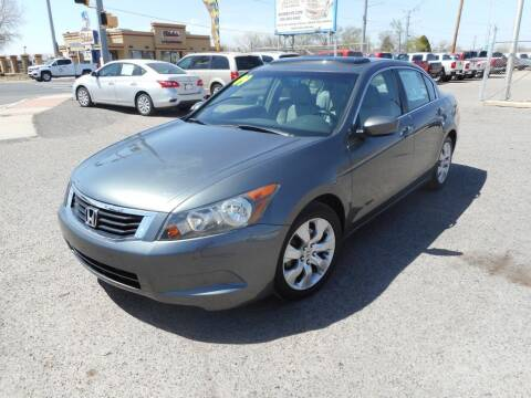 2009 Honda Accord for sale at AUGE'S SALES AND SERVICE in Belen NM