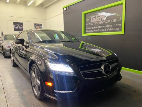 2012 Mercedes-Benz CLS for sale at GCR MOTORSPORTS in Hollywood FL