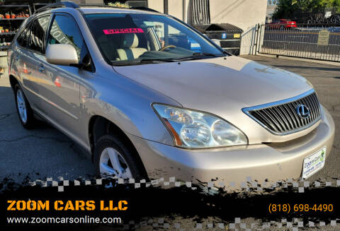 2006 Lexus RX 330 for sale at ZOOM CARS LLC in Sylmar CA
