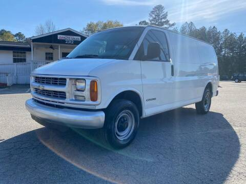 2001 Chevrolet Express Cargo for sale at CVC AUTO SALES in Durham NC