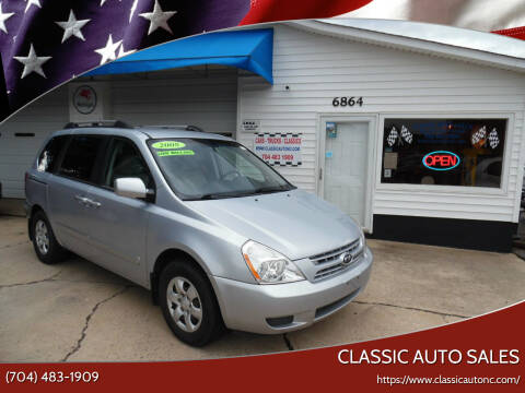 2008 Kia Sedona for sale at Classic Auto Sales in Maiden NC