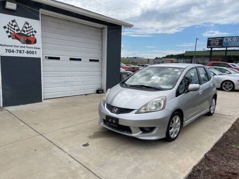 2011 Honda Fit for sale at NATIONAL CAR AND TRUCK SALES LLC - National Car and Truck Sales in Concord NC