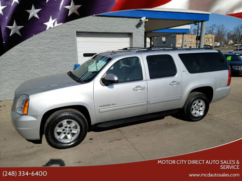 2010 GMC Yukon XL for sale at Motor City Direct Auto Sales & Service in Pontiac MI